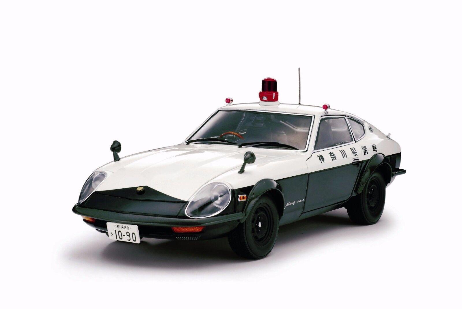 Nissan Fairlady 240 ZG policía kanagawa Pref  Kyosho 08216A