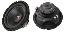 "NEW (2) 10"" DVC Subwoofer Bass Speakers.4 ohm.Woofers.Sub.Dual Voice Coil.PAIR"