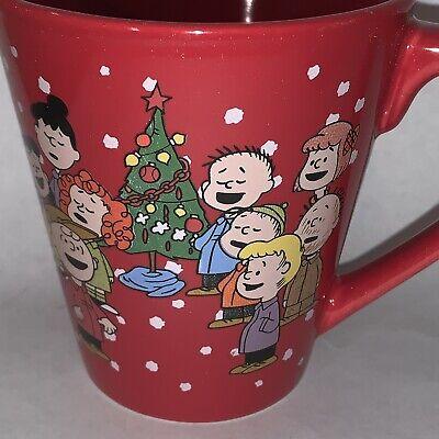 Peanuts Farmer Snoopy Charlie Brown American Gothic Art Comic Coffee Mug Tea Cup
