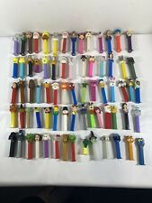 Lot of 72 PEZ Dispensers, Star Wars, Disney, Super Heroes, Toy Story + More