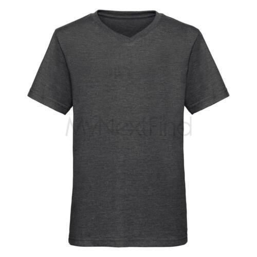 Russell Boys V-Neck HD T-Shirt
