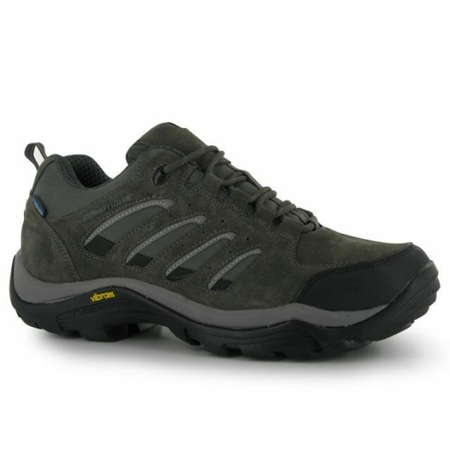 Karrimor Mens Aspen Low Walking Shoes Waterproof Casual Lace Up Suede Upper