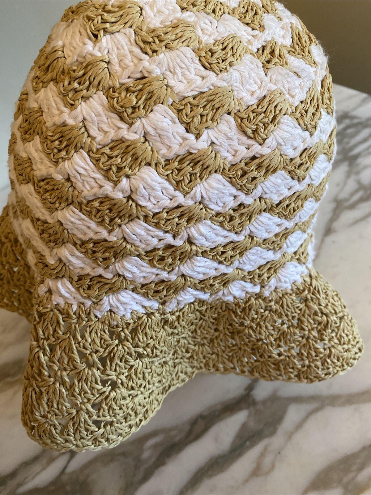 daniele meucci hat Paper Natural White Sun Hat - image 2