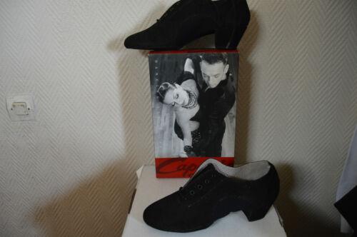 Dance Salon Capezio Danse Chaussure City 39 Neuf zapato Cuir Taille latine Shoes t8wqq