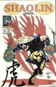 SHAOLIN # 1 Fi+ (Black Tiger Press, 1994) original Comic Book