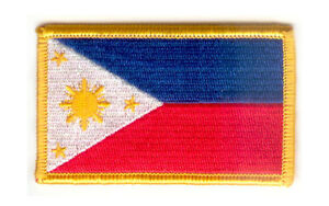 PHILIPPINES-FLAG-PATCH-PATCHES-BADGE-IRON-ON-NEW-EMBROIDERED