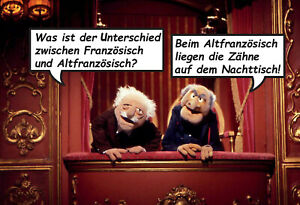 Muppets-Waldorf-Statler-Motiv-16-Blechschild-Schild-Tin-Sign-20-x-30-cm-FA0977