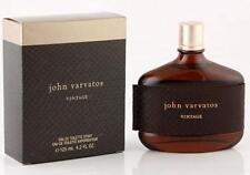 VINTAGE by JOHN VARVATOS Cologne 4.2 oz NEW in BOX Sealed
