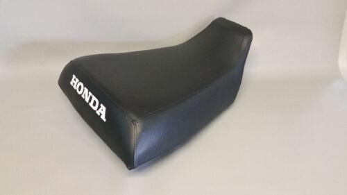 HONDA ATC250ES Seat Cover BIG RED 1985-1987   in BLACK GRIPPER ST non slip