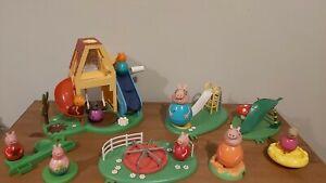 Peppa-Pig-Weebles-Playset-Bundle-Wind-amp-Wobble-Tree-House-Play-Park-Figures