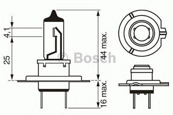 Bosch Longlife 499 H7 12 V 55 W PX26D - 1987302078