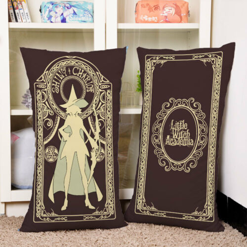 Little Witch Academia Akko Kagari Magic Card Hold Pillow Cushion 40*70 cm
