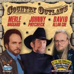 David Allan Coejohnny Paycheckmerle Haggard Country Outlaws New