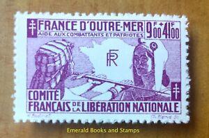 EBS-French-Colonies-1943-France-Libre-034-Pour-l-039-aide-aux-combattants-034-CF-64
