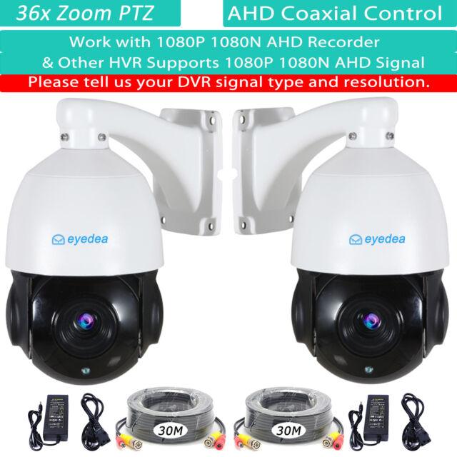 Eyedea 36 X Zoom 1080P 2.0MP 5500TVL PTZ Speed Dome AHD CCTV Camera Night Vision