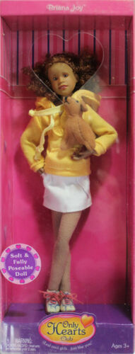 *NEW* Only Hearts Club Doll Briana Joy in outfit with Dog 104
