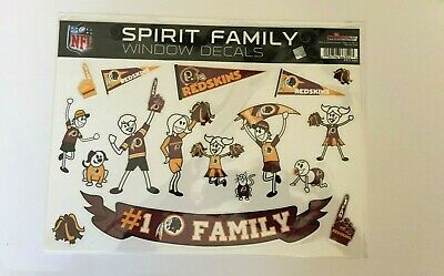 Washington Redskins NFL Rico Industries  Home State Sticker