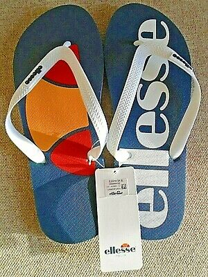 Accurato Ellesse Italia Uomo Marcos Dark Blue Flip Flops Uk 9 Eu 43 Us 10 Nuovo Prezzo Consigliato £ 15!-mostra Il Titolo Originale