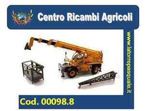 00098.8 Tracteur télescopique 1/32 Ros Ten Pegasus 40.25
