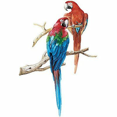 Two Large Parrots Mini Mural 13475