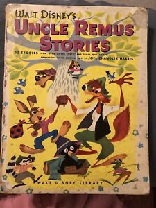 Uncle Remus Stories HC Book Walt Disney Library Song of South
