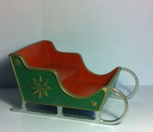 poupées maison miniature Xmas NOËL temps hols Santa/'s carriole