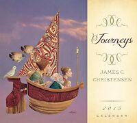 Journeys 2015 Calendar By James C. Christensen, (calendar), Deseret Book Company on sale