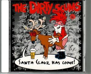 PunkCD - THE DIRTY SCUMS: Santa Clauz has come !