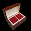 Di-Legno-Grande-Rosso-Gioielli-Chest-IN-Marrone-Colore-Serratura-e-Chiave miniatura 4