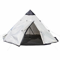 Tahoe Gear Bighorn Xl 12-person 18' X 18' Teepee Cone Shape Camping Tent on Sale