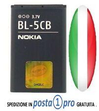 BL5CB BATTERIA NOKIA BL-5CB ORIGINALE per Nokia 106 105 113 103 X2-05 100 C1-01,