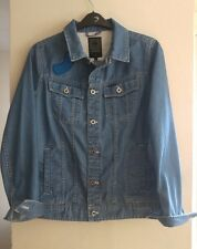 G-STAR RAW PHARRELL WILLIAMS CO DESIGNED FOR THE OCEANS JACKET SIZE L IMMACULATE