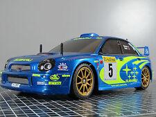 New Built Tamiya 1/10 RC Subaru WRX Impreza WRC 2001 TL01 Chassis Servo 58273