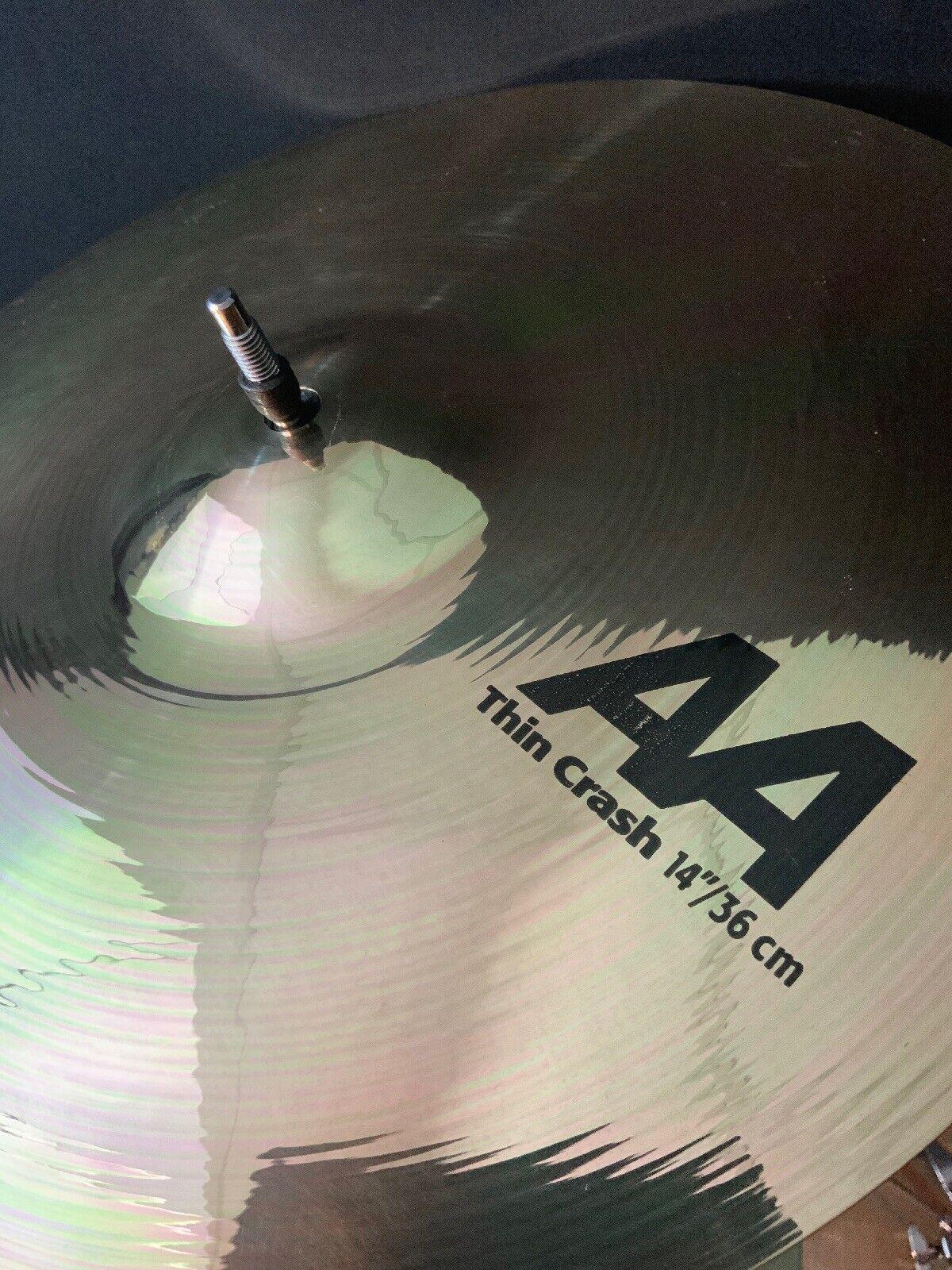 """Sabian AA 14"""" Thin Crash Cymbal BR"""