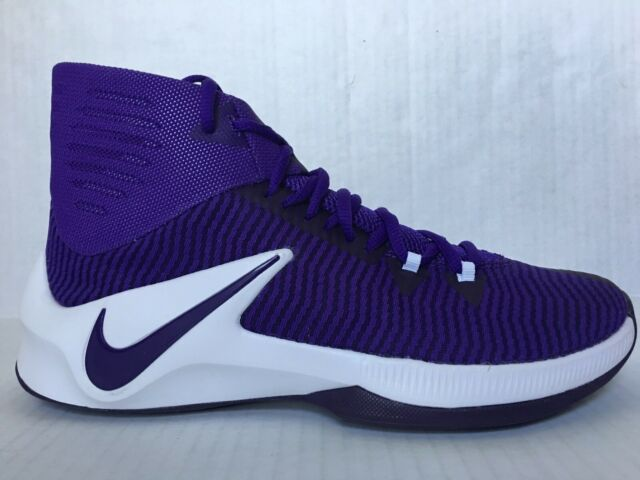 Factory Price Nike Zoom Hyperfuse 2017 TB Yellow Purple Mens