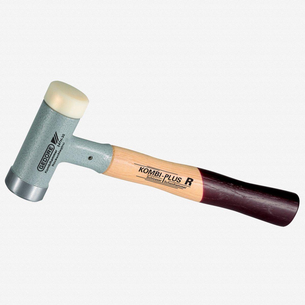 Gedore 247 H-35 Combination hammer KOMBI-PLUS R 35 mm