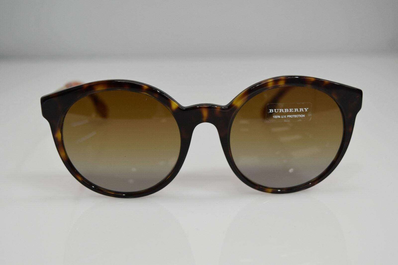 Burberry Havana Gold B4296 3816/T5 53-20-140 Sunglasses