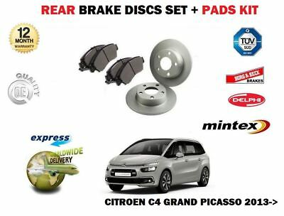 FOR CITROEN C4 GRAND PICASSO 2.0 2006-/> FRONT BRAKE DISCS SET /& DISC PADS