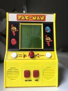 Pac Man Machine >> Pac Man Mini Arcade Game Pacman Machine Vintage Nostalgia Classic