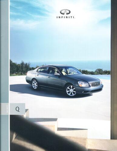2005 Infiniti Q45 Q 34-page Original Car Sales Brochure Catalog