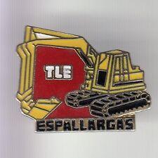 RARE PINS PIN'S .. AGRICULTURE TRACTEUR TRACTOR BTP PELLE CAT ESPALLARGAS TLE~DC