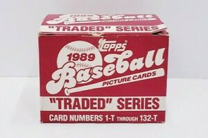 1989-Topps-Traded-Baseball-Set-132-cards-Complete-Set
