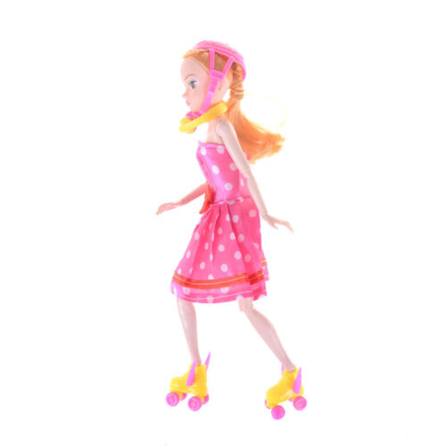 1//12 Scale Dollhouse Miniature Accessories Headset Skating Shoes Helmet KitB/_KH