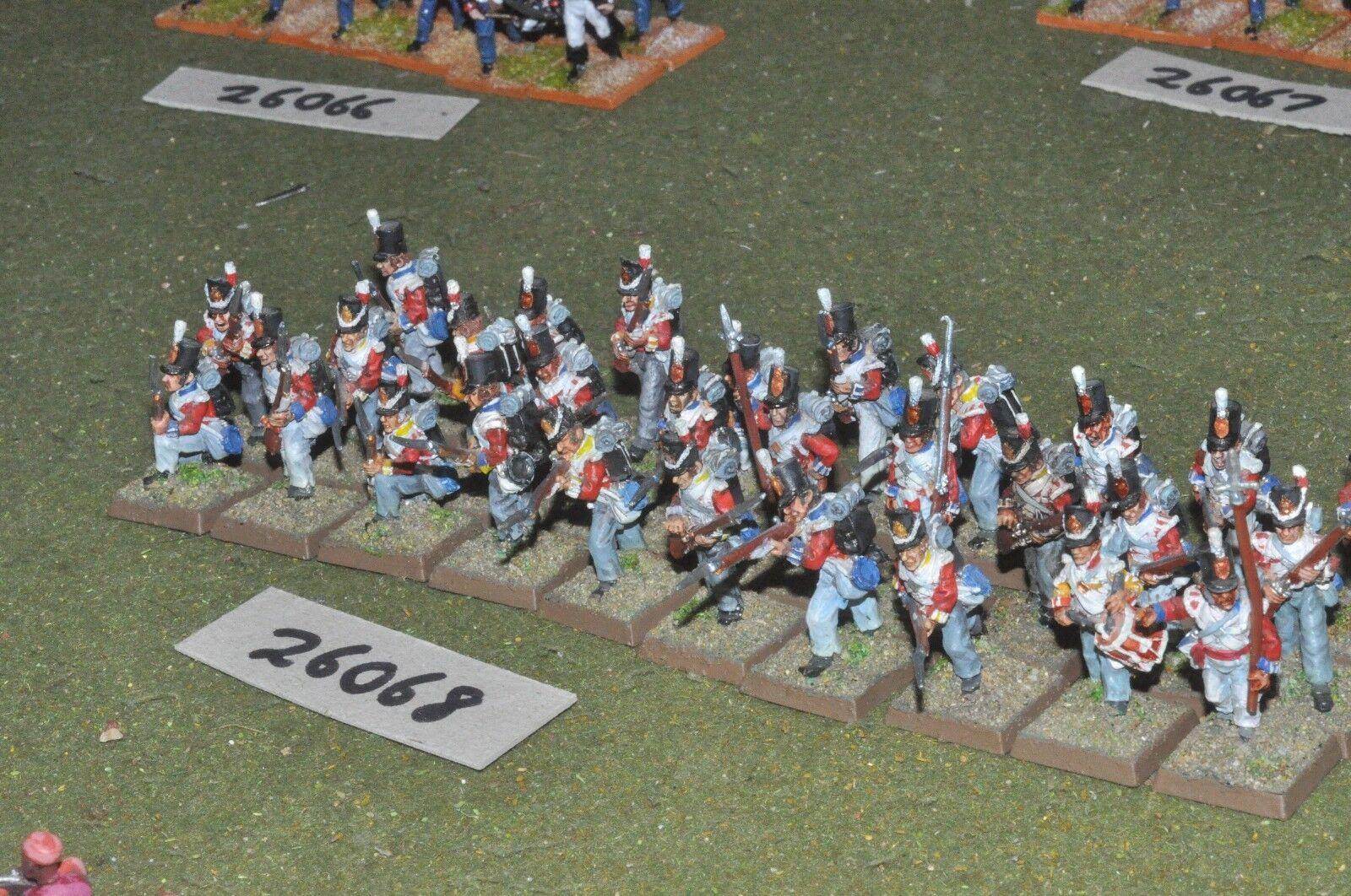 25mm napoleonic   british - line 29 figures - inf (26068)