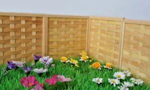 Marchen Garten Holz Zaun Paneele Sehr Gut Qualitat Neu
