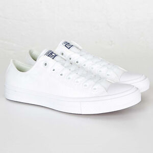 ae6ce7cdbf88 Converse All Star Chuck Taylor II 2 Canvas Unisex Shoes Low Top ...