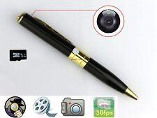 8GB Mini Spy Pen HD Video Hidden Camera TF/ Micro SD Card Camcorder DVR