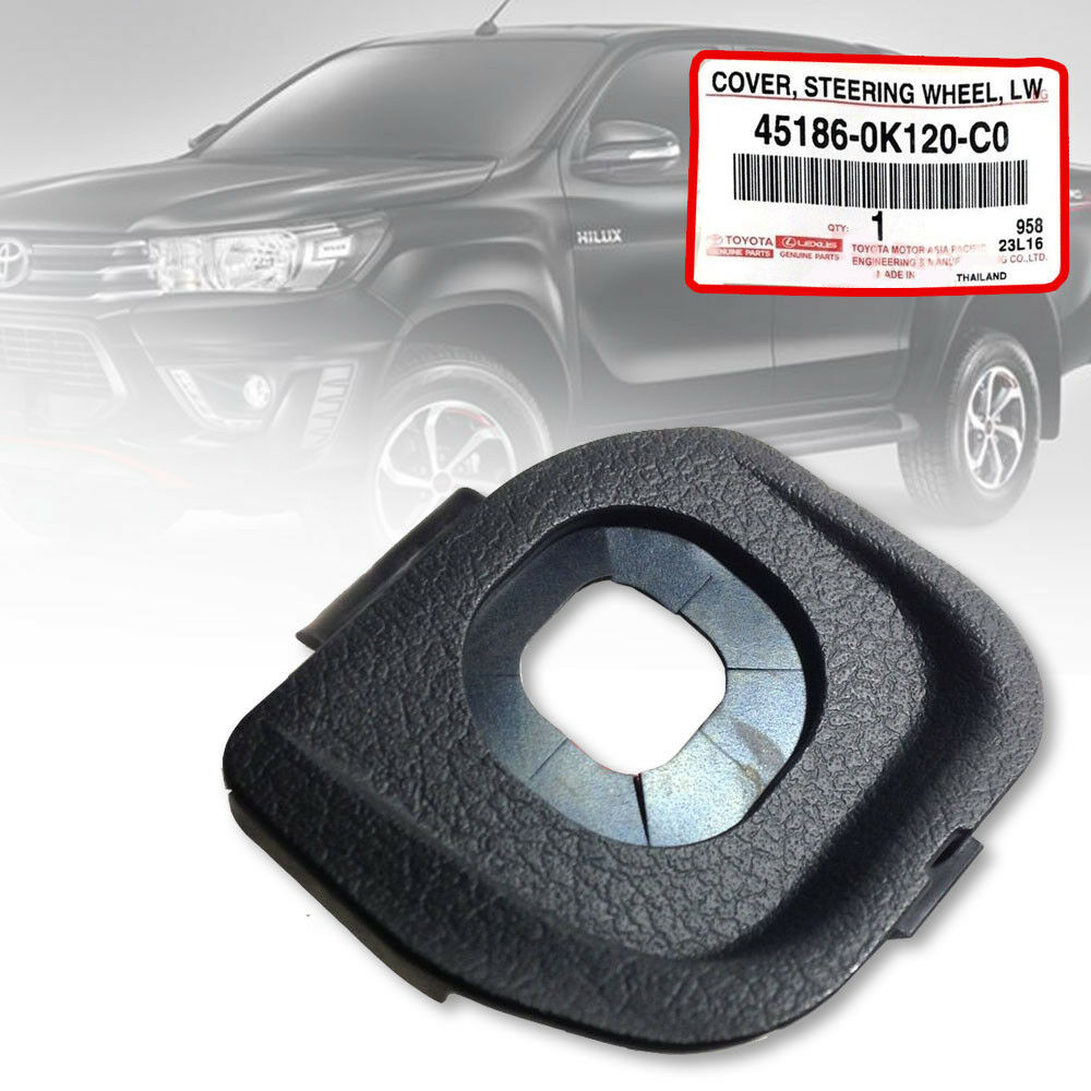 Cruise Control Should Not Be Used >> Details About Steering Wheel Cruise Control Cap Genuine Toyota Fortuner Hilux Revo 2015 2019