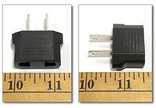 1pc Euro Spain Power Adapter Plug Adapts Euro Set Transformer to USA Plug Style