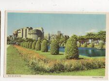 Rio De Janeiro Praca Paris Brazil Vintage Postcard 597a